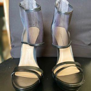 BCBG Max Azria Mesh Cuff Stilettos 8.5